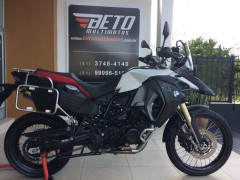 BMW F 800 GS ADVENTURE 2015 BRANCA COMO NOVA - SEGUNDO DONO ... 5.834 KM ... DOCUMENTO 2018 PAGO ... IMPECÁVEL ... TODA ORIGINAL